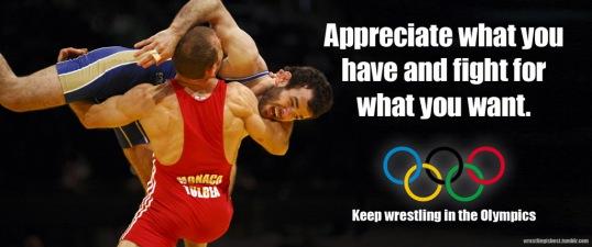 Keep Olympic Wrestling